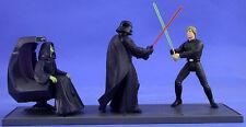 STAR Wars POTF sciolti ULTRA RARA CINEMA scena finale JEDI DUEL ottime condizioni. C10