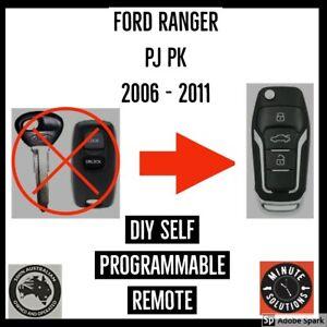 FITS FORD RANGER PJ PK COMPLETE REMOTE FLIP KEY 2006 2007 2008 2009 2010 2011