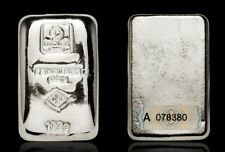 100 Gramm Silberbarren Silver Bar Doduco 9999 Feinsilber original verschweißt
