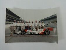 "1994 Indianapolis 500 Winner Al Unser, Jr Marlboro Penske Mercedes 4"" x 6"" Print"