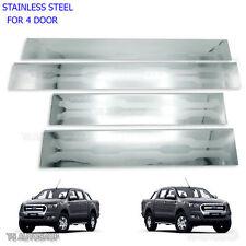 4 Door Ford Ranger Xlt Mk1 Mk2 Stainless Scuff Plates Sills 12 13 14 15 16 17