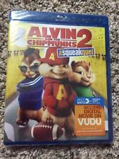 NEW & SEALED Alvin and the Chipmunks 2 - The Squeakquel Blu-Ray
