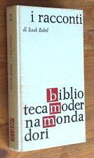 ISAAK BABEL: I racconti  p. e. 1962  Mondadori BMM 723-724