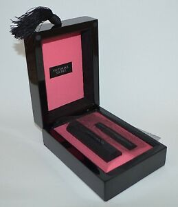 VICTORIA'S SECRET INTENSE EAU DE PARFUM BODY SPRAY TRAVEL PERFUME CASE BLACK BOX