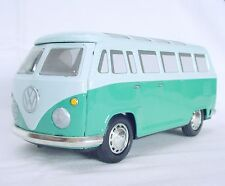 Ichiko Japan VW VOLKSWAGEN TRANSPORTER VAN PASSENGER BUS 1 Tin Friction Toy Mint