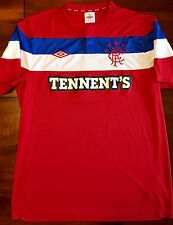 Umbro GLASGOW RANGERS 2011/12 Away L Soccer Jersey Football Shirt Scotland