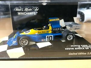 Ronnie Peterson March 761 South Africa 1976 Minichamps 1:43. Excellent condition