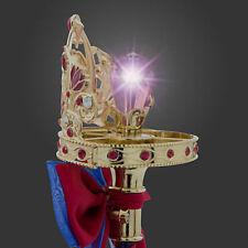 NEW ORIGINAL Disney Princess Frozen ANNA Cameo LIGHT UP Jewel Metal Wand 15 INCH