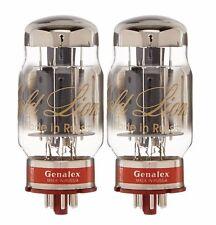 New 2x Genalex Gold Lion KT88   Factory Matched Pair / Duet / Two Tubes