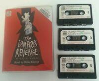 AUDIO BOOK CASSETTE - Willis Hall The Vampire's Revenge Read By Brian Glover