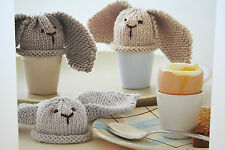 Rabbit Egg Cosies Knitting Pattern
