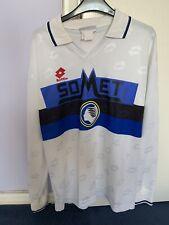 Vintage Football Shirt Atalanta Serie A Italy Lotto XL