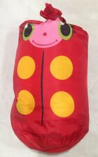 Melissa & Doug Mollie Ladybug Child's Sleeping Bag – Sunny Patch W Carrying Bag
