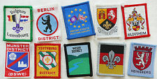 BOY SCOUT BADGES BRITISH SCOUTS ABROD COLLECTION (156)