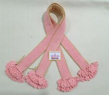 NEW Handle Cover Crochet Handmade for bag  Neverfull mm gm pink