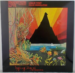 Mountain Live - The Road Goes Ever On (NrMINT) 1991 UK  LP