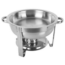 1 Pack Buffet Catering Chafer Chaf Round Chafing Dish 5Qt 6L Party 2020