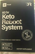 New Boxed Pruvit Reboot Kit Keto 60 hours Expires 4/21