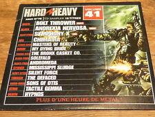 Various – HARD & HEAVY 41 !!! BOLT THROWER  !!!!!!!!!!!! ! RARE CD FRANCE