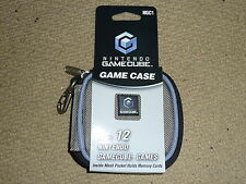 NINTENDO GAMECUBE OFFICIAL 12 GAME DISC CARRY CASE HOLDER ZIP WALLET BRAND NEW!