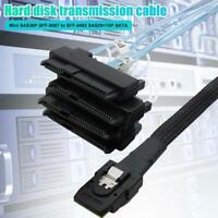 Mini SAS 36P SFF-8087 to 4 SFF-8482 Connectors With SATA Power Cable 0.5/1M