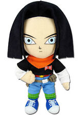 "REAL  Great Eastern GE-52718 DBZ Dragon Ball Z 8"" Android #17 Black Hair Plush"