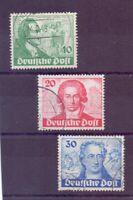 Berlin 1949 - Goethe - MiNr. 61/63 rund gestempelt - Michel 180,00 € (286)