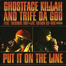 Ghostface Killah  Trife Da God - Put It On the Line (DVD, 2-Disc Set, DVD + CD)
