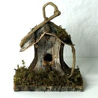 Scott's Collectibles Decorative Wooden Bird House No. 7268 Rustic NEW