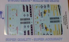 Microscale Decal 1:72 Scale #72-868 / F-14A/D Tomcats: VF-124 & VX-9