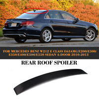 Carbon Heckspoiler Dachspoiler Lip für Mercedes W212 E250 E350 E500 E550 E63 AMG