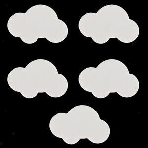 5 x Wolken Formen Möbelknopf Möbelknöpfe Möbelgriffe Griff für Kinderzimmer