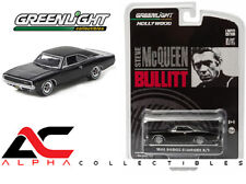"GREENLIGHT 44741 1:64 1968 DODGE CHARGER R/T ""BULLITT"" STEVE MCQUEEN"