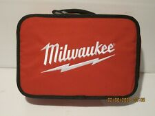 """Milwaukee 903160001 11"""" x 7"""" x 3"""" Tool Bag for 12-Volt& Other Tools- F/Ship Nwob"""