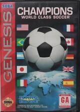 Champions World Class Soccer SG New Sega Genesis