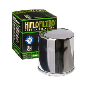 HF303C Hiflofiltro Chrome Oil Filter for Honda CBR600/900, Deauville, VFR750/800