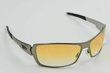 RARE! Oakley Spike Polished Dark Chrome/Brown Gradient Sunglasses