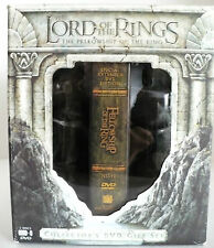 DVD The Lord of the Rings: The Fellowship of the Ring w/ Argonath figures CE
