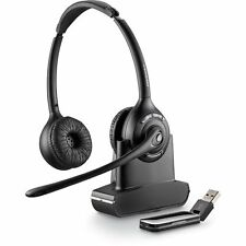 Plantronics SAVI W420/A Binaural Over Head Wireless DECT USB PC Headset 84008-04