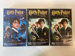 Harry Potter VHS Bundle