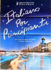 manifesto movie poster 2F ITALIANO PER PRINCIPIANTI LONE SCHERFIG CINEMA