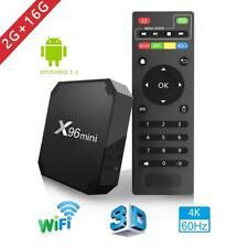 X96mini Android7.1 Smart WIFI 4K 1080P H.265 TV Box 2+16Go HDR Amlogic QuadCore
