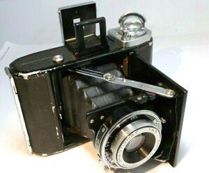 Zeiss Ikonta 520 folding bellows camera 7.5cm Novar-Anastigmat f4.5 lens 6X9cm