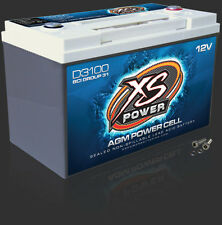 XS POWER D3100 AGM CAR AUDIO 5000 AMPS Power Cell Battery With Terminals D 3100