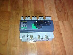 inter interrupteur  sectionneur coupe circuit 125A  merlin gerin triphasé