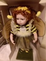 New Attitude Porcelain Doll 17in Bumblebee