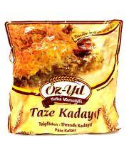 Öz-Yil Frische Kadayif Teigfäden Engelshaar Künefe Taze Kadayif (500g)