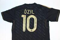 Black Real Madrid Ozil Soccer Jersey Mens #10 Adidas 2011-2012