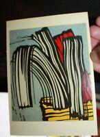 Musseum Set 5 Postcards Picasso Dali Lichenstein Miro Abe Lincoln