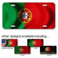 License Plate - Flag of Portugal - Choose your design